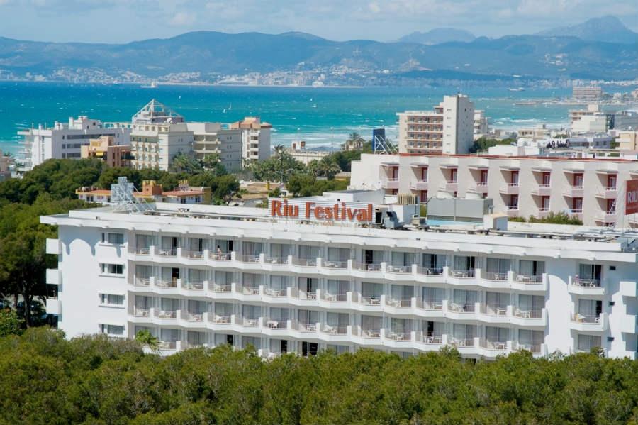 Hotel Riu Festival Playa De Palma Palma De Mallorca Spanien